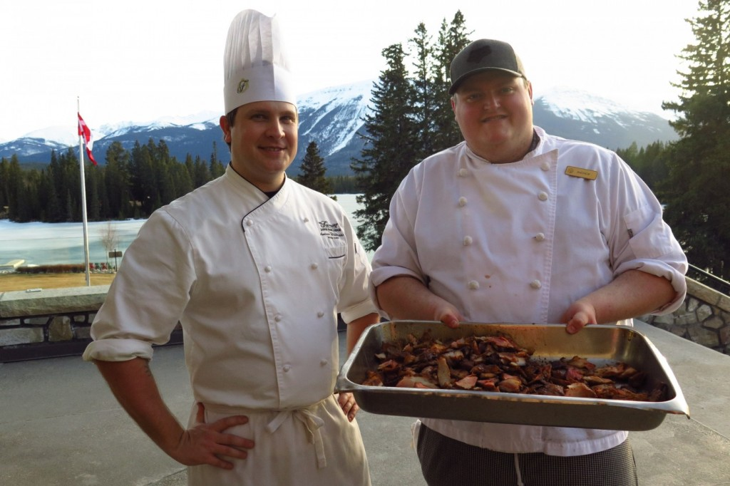 JPL Sous Chef Andrew Whiteside and Chef Andrew