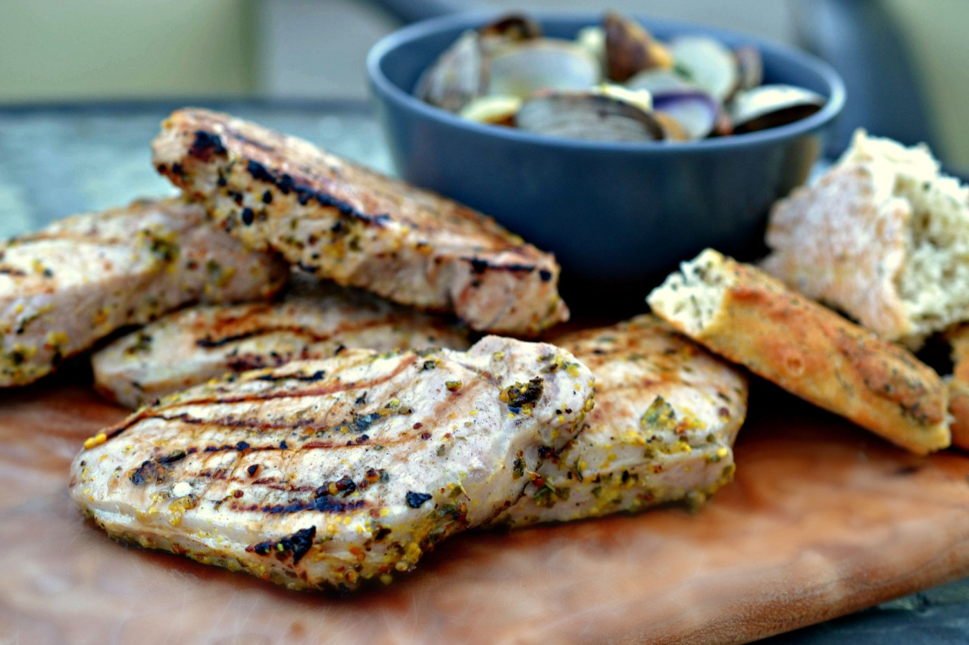 Greek-style Grilled Pork Chops - Passion for Pork