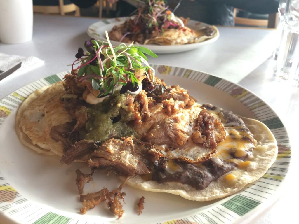 Dogwood Cafe Heuvos Rancheros