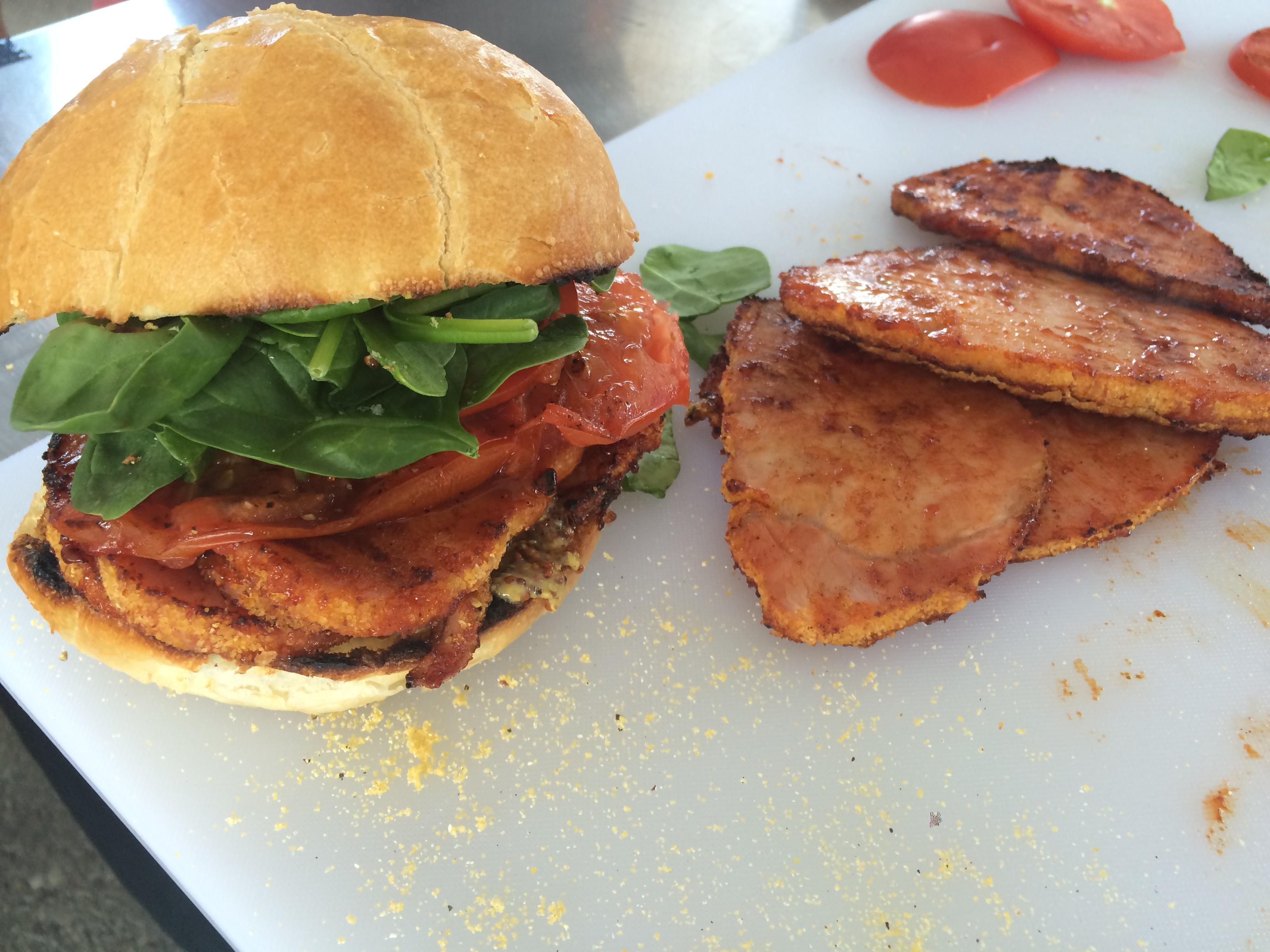 Chef Cowan's Peameal Bacon Sandwiches