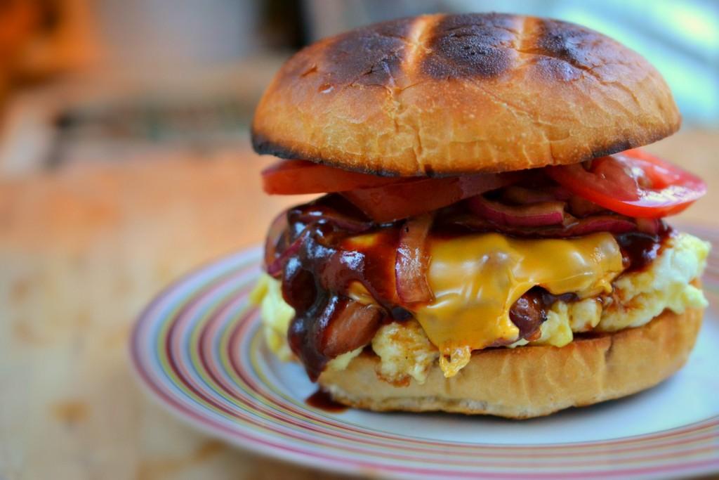 Bacon breakfast sandwich recipe