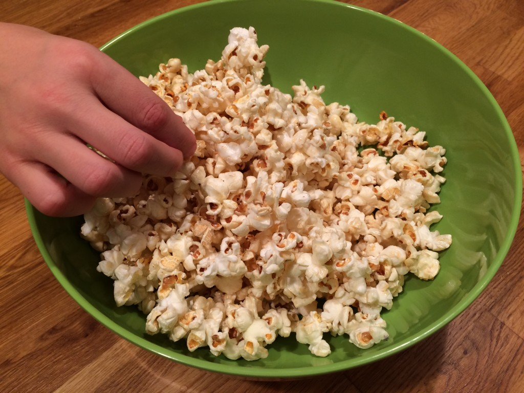 Sweet and Salty Bacon Popcorn
