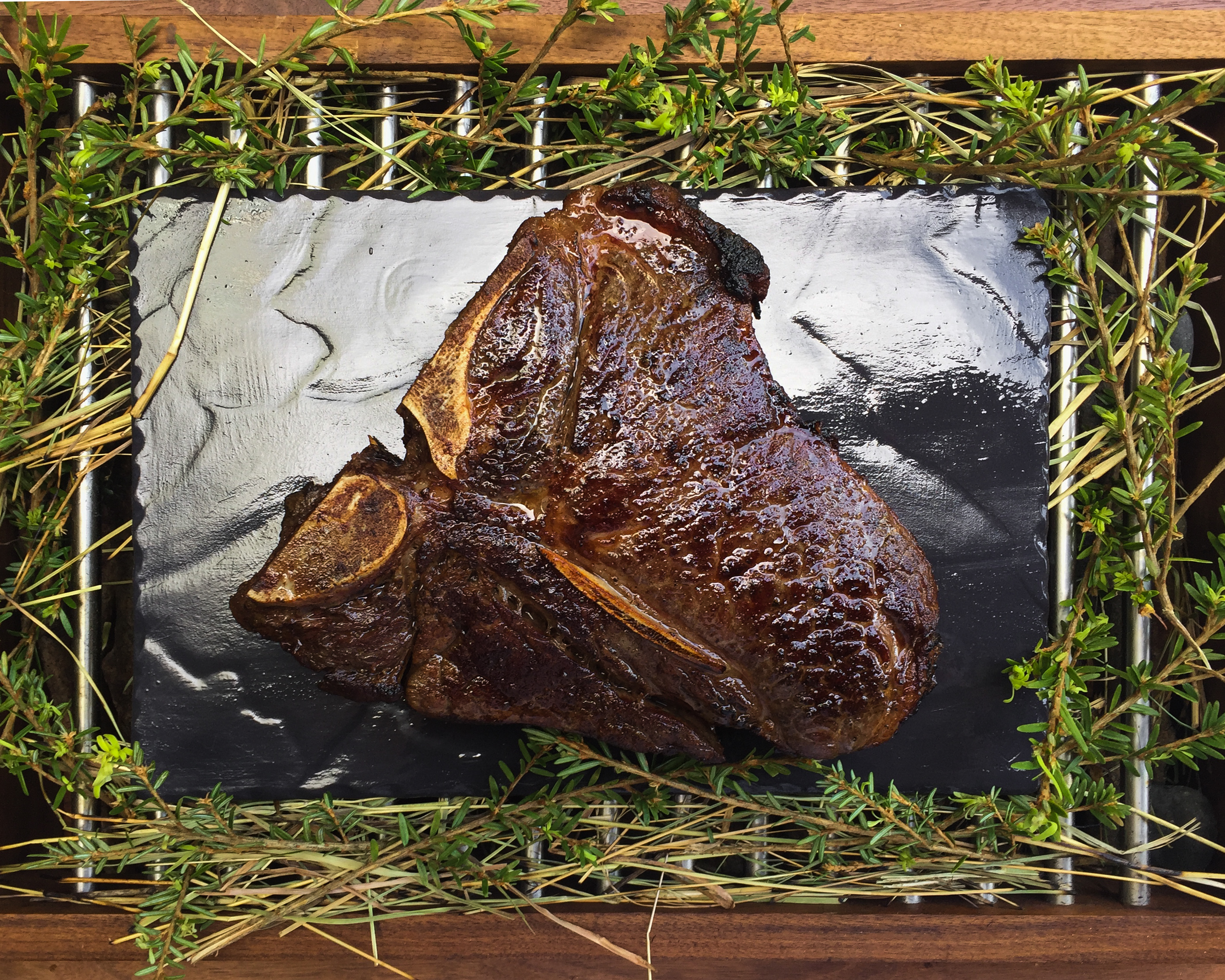 Roasted Berkshire Pork Chop